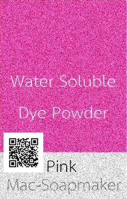 สีชมพู/ละลายน้ำ/PINK/ชนิดผง