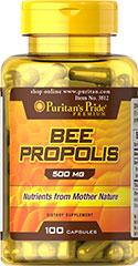 Puritan's Pride - Bee Propolis 500 mg 100 Capsules