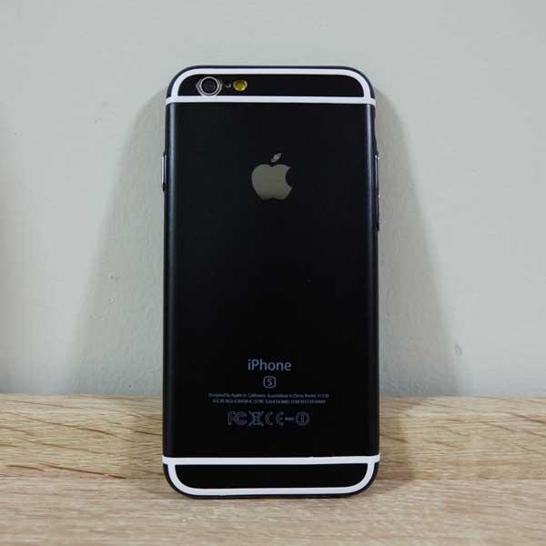 เคสไอโฟน 6/6S 6s สีดำ
