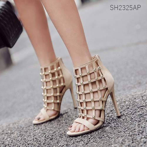 Pre รองเท้าคัทชู ส้นสูง แฟชั่น ราคาถูก มีไซด์ 35-40