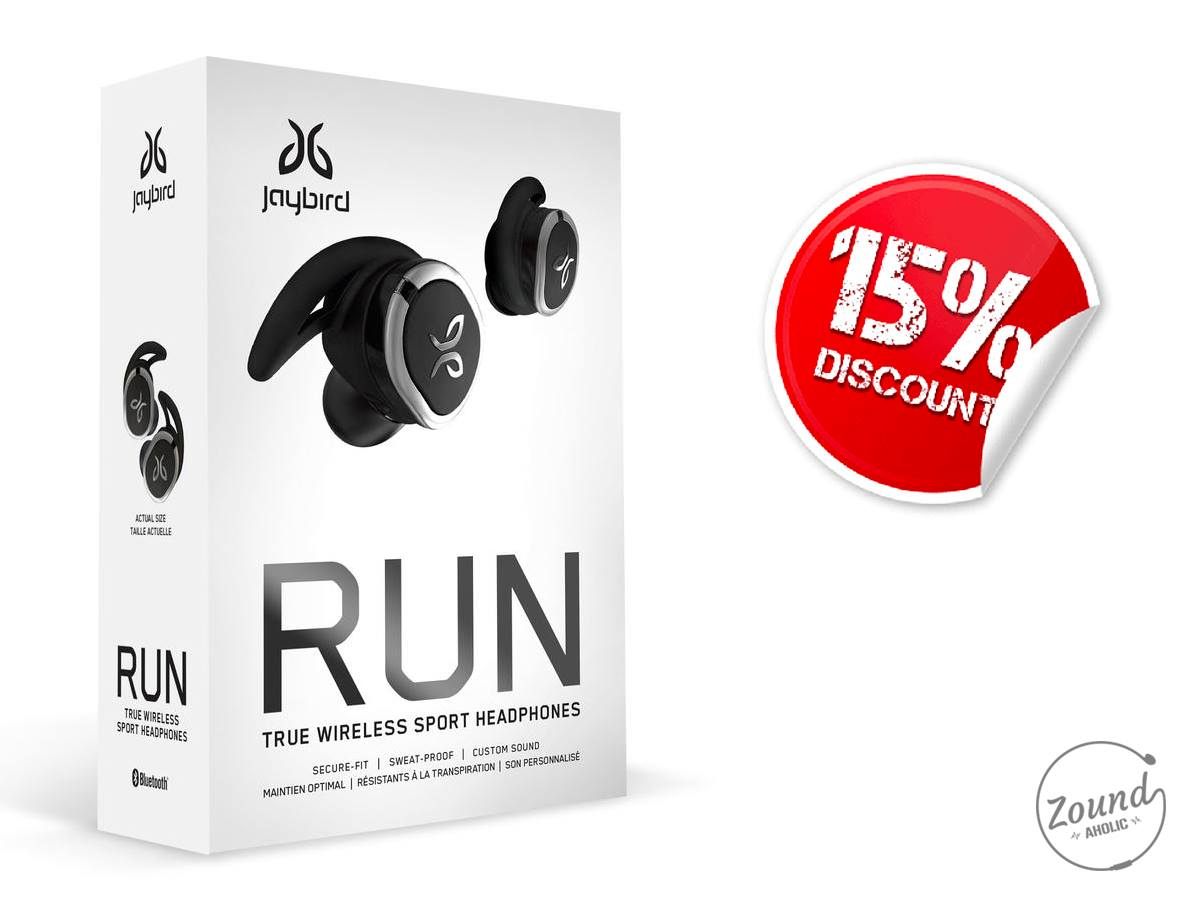 Jaybird Run ลด15% เหลือ 6,360 บาท
