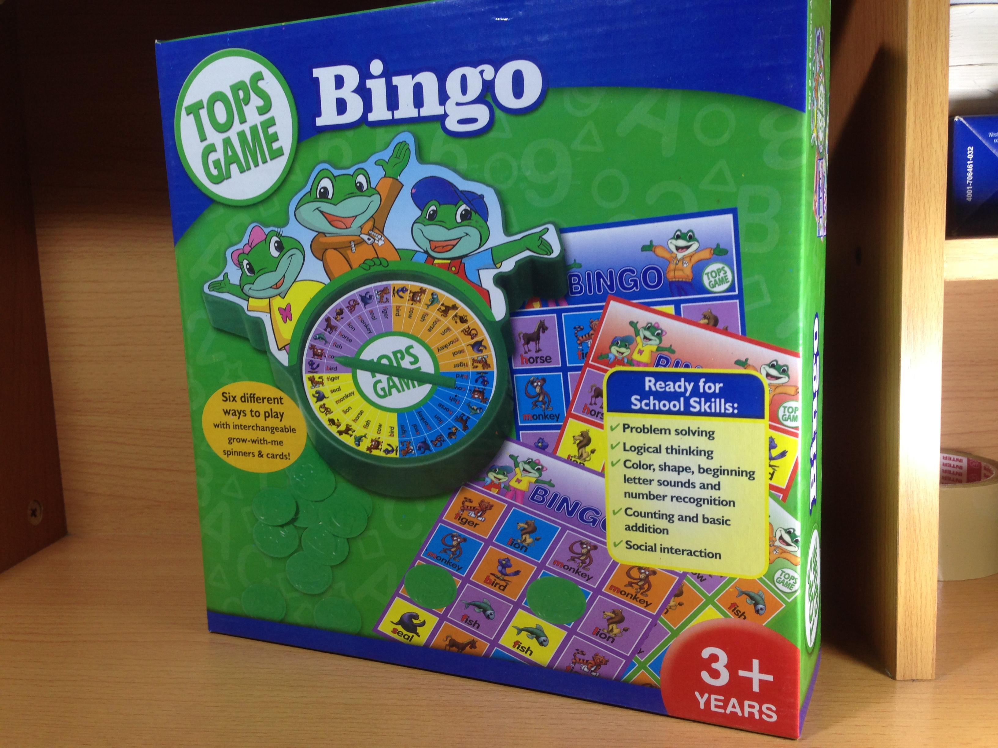 เกมบิงโกฝึกแยกทรงเรขา Bingo