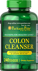 Puritan's Pride - Colon Cleanser 240 Capsules
