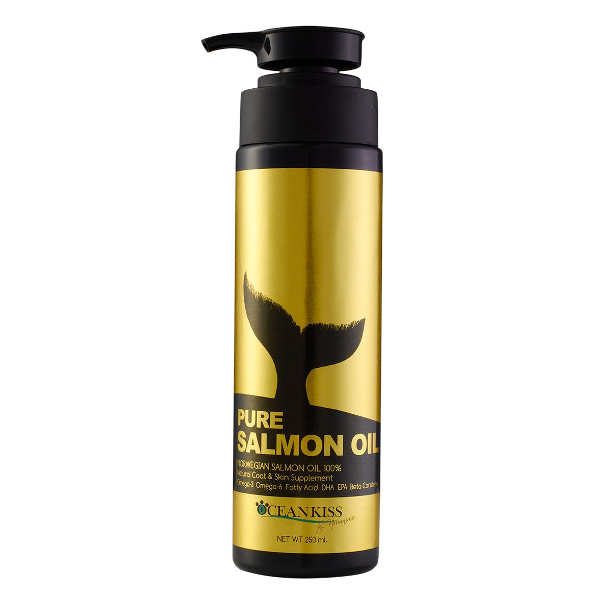 น้ำมันปลาแซลมอน 100% OCEANKISS Pure Salmon Oil