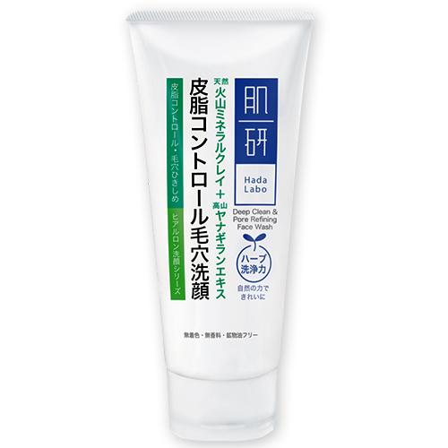 Hada Labo Deep Clean & Pore Refining Face Wash 100g.