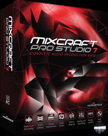 Acoustica Mixcraft Pro Studio 8.1 Build 396