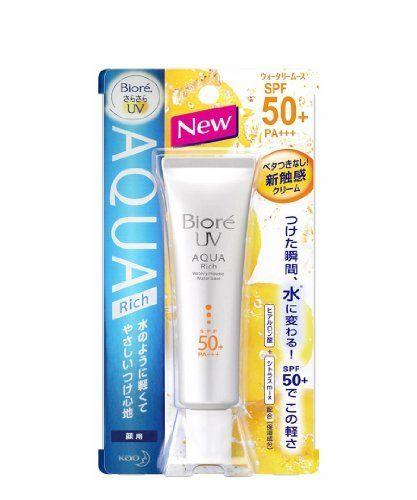 Biore UV Aqua Rich Watery Mousse SPF50/PA+++ 33 ml.