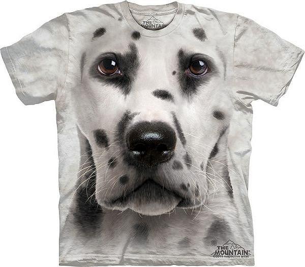 Big Face Dalmation Dog T-Shirts