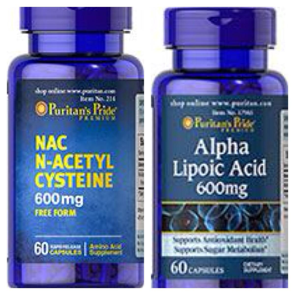 NAC 600 mg + Alpha Lipoic Acid 600 mg