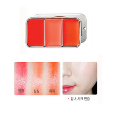 Skinfood Fresh Fruit Lip & Cheek 3 Color #3 Tomato