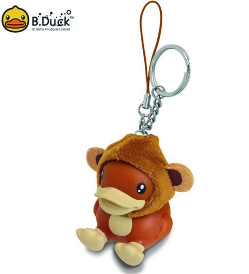 พวงกุญแจ B.Duck ชุดลิง