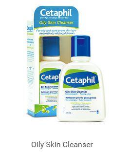 Cetaphil Oily Skin Cleanser 125g เซตาฟิล ออยลี่ สกิน คลีนเซอร์ ผลิตภัณฑ์ทำความสะอาดผิวสำหรับผู้ที่มีผิวมันหรือผู้มีสิวอุดตัน สำเนา