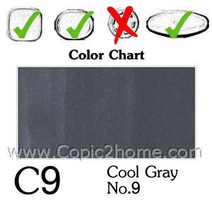 C9 - Cool Gray No.9