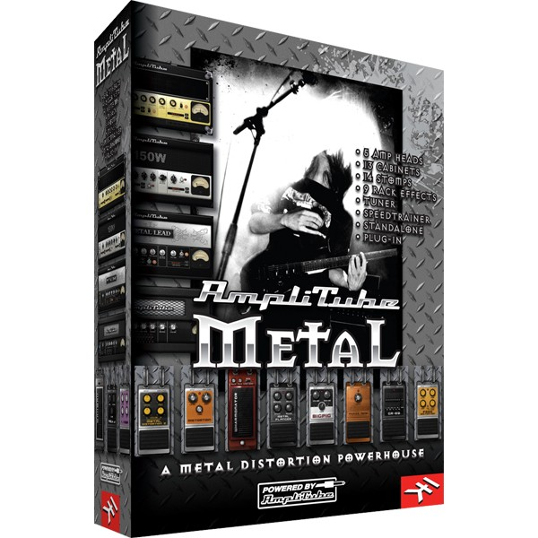 IK Multimedia AmpliTube Metal V.1.0.1
