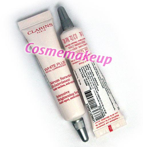 เครื่องสำอาง skincare คลาแร็งส์ CLARINS White Plus Total Luminescent Intensive Brightening Serum Anti-Spot, Antioxidant 10 mL ลดเลือนจุดด่างดำ จัดการผิวที่หมองคล้ำ