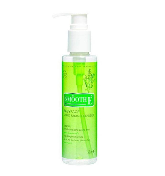 Smooth E Liquid Facial Cleanser 150 ml