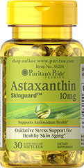 Puritan's Pride - Astaxanthin 10 mg 30 Softgels