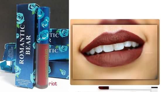 ส่งฟรี EMS # Liquild matte lipstick # สี riot แดงเบอร์กันดี แดงเข้มอมน้ำตาล ลิปสติกเนื้อแมทแห้งไว้ติดทนนาน กลิ่นหอม