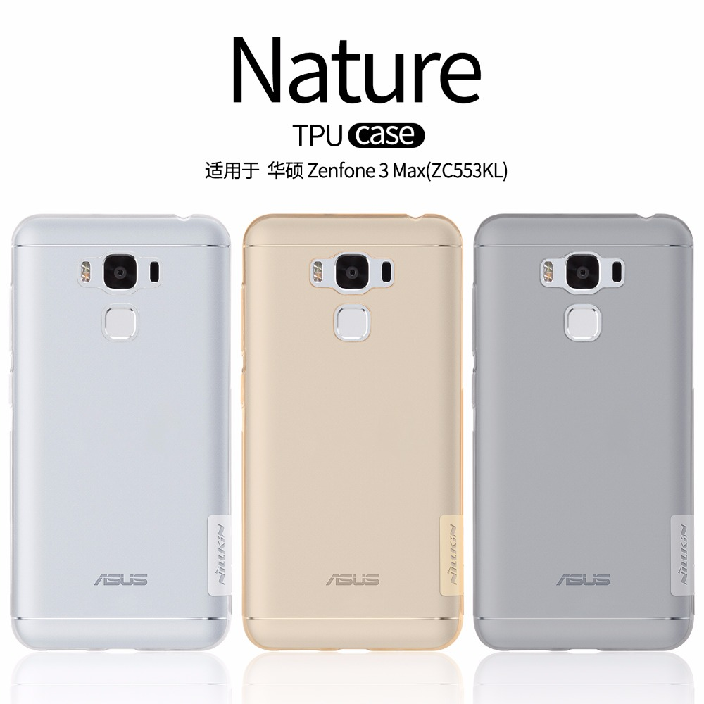 Nillkin Nature TPU Case (Zenfone 3 Max 5.5 ZC553KL)