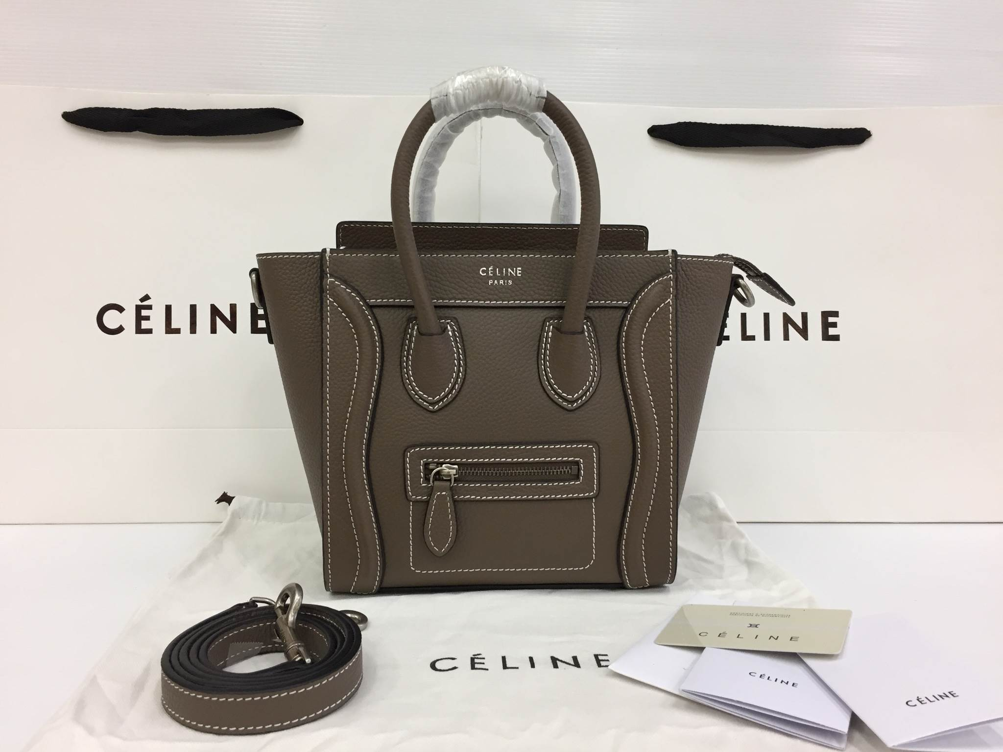 CELINE NANO LUGGAGE TOP Mirror Image 7 stars เกรด HI END