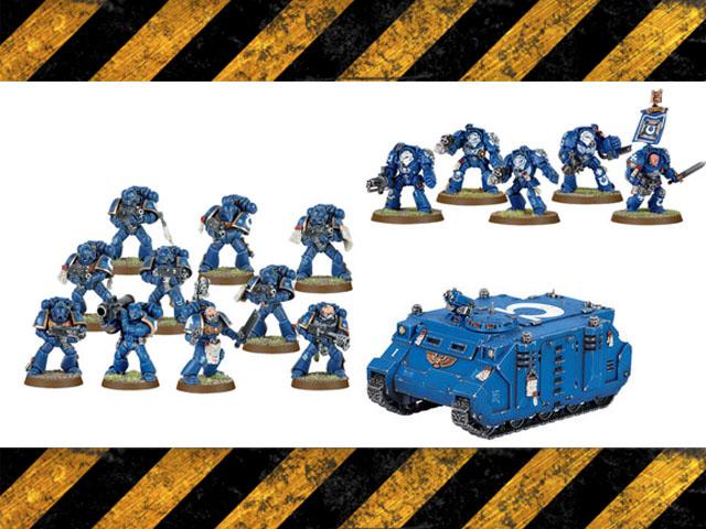 Space Marine bundle set