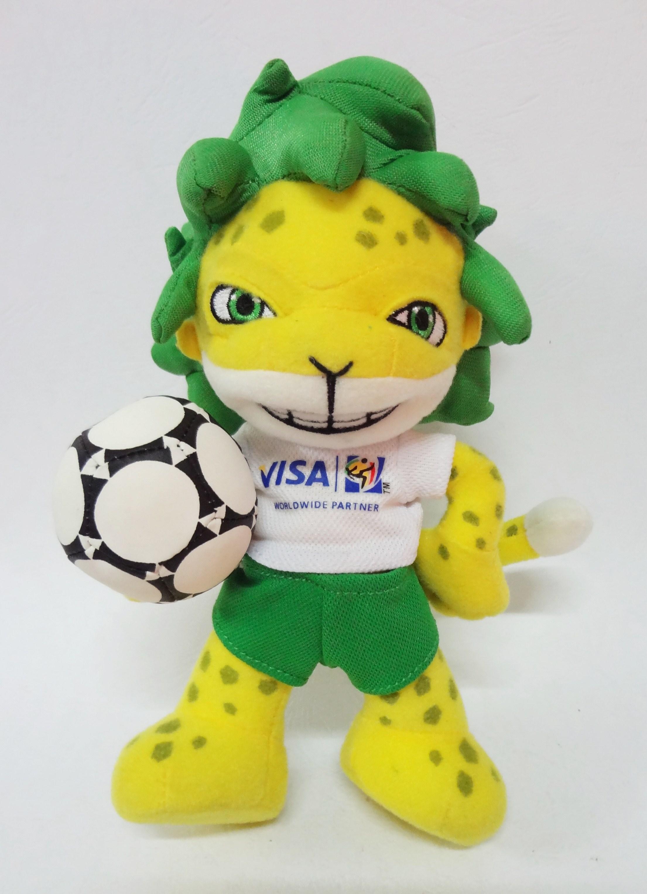 ตุ๊กตา FIFA Mascot ฟุตบอลโลก ปี 2010