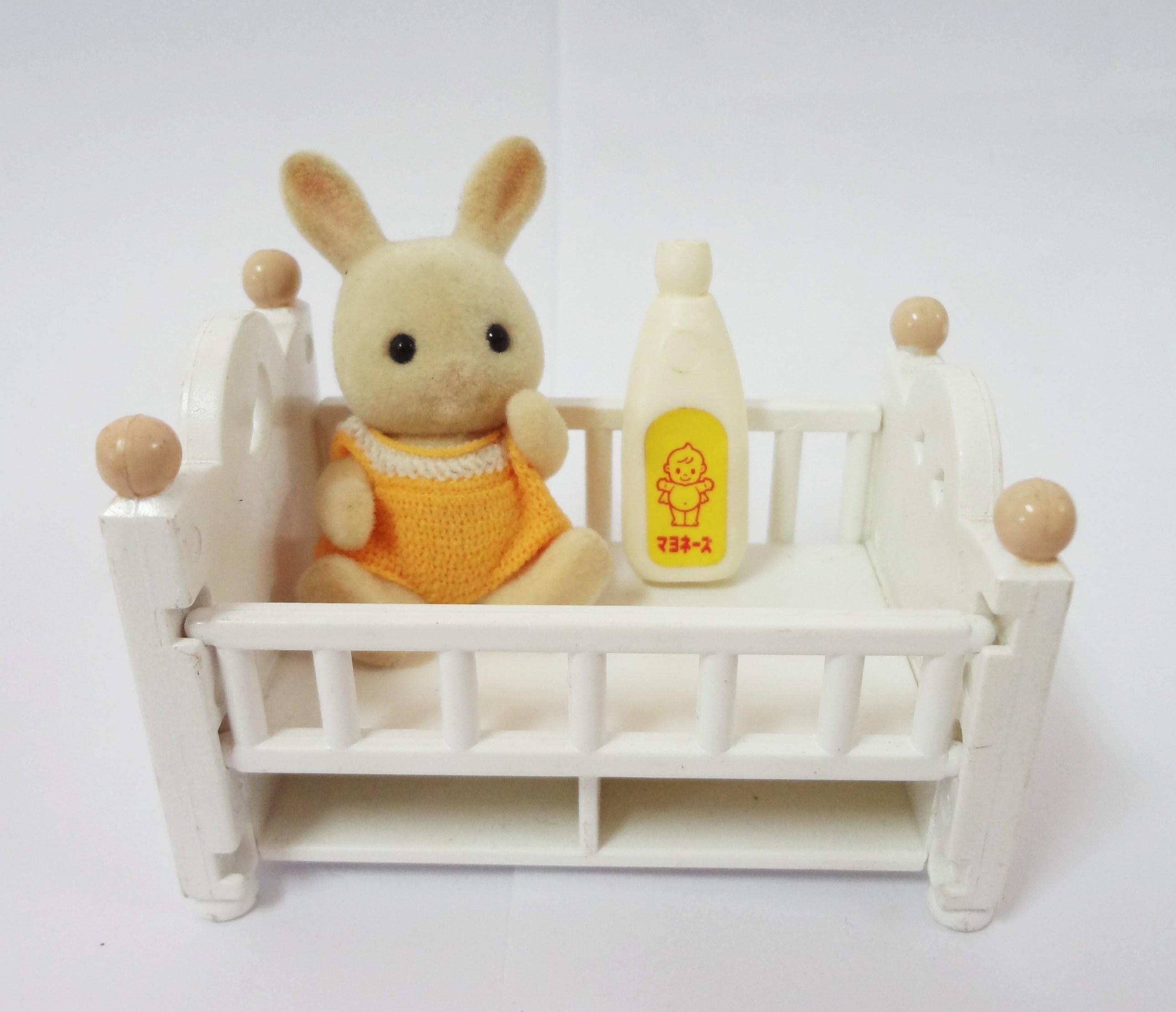 Sylvanian Families : Rabbit Baby Set(Baby Bed)
