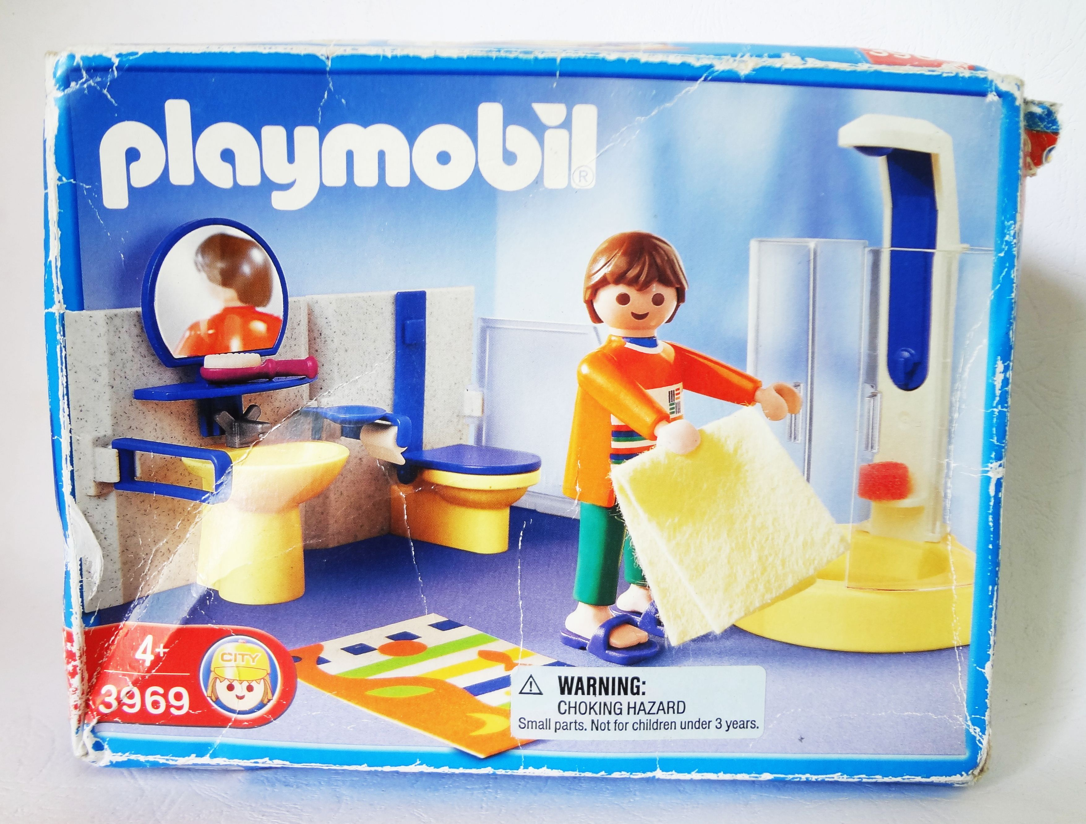 ชุดของเล่น Playmobil 3969 : Modern Bathroom