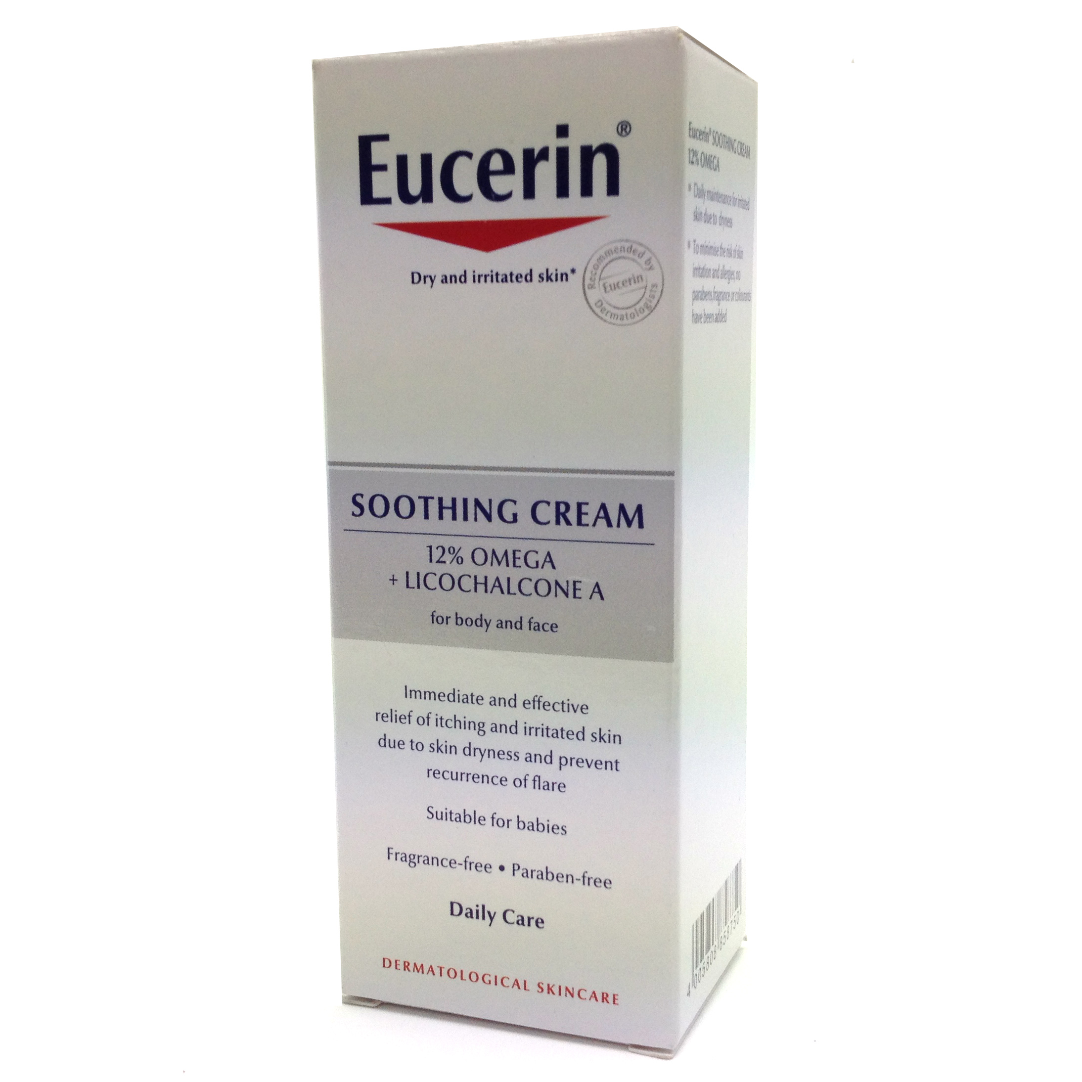 Eucerin AtoControl Soothing CREAM For FACE 12 % Omega plus Licochalcone 250 ml
