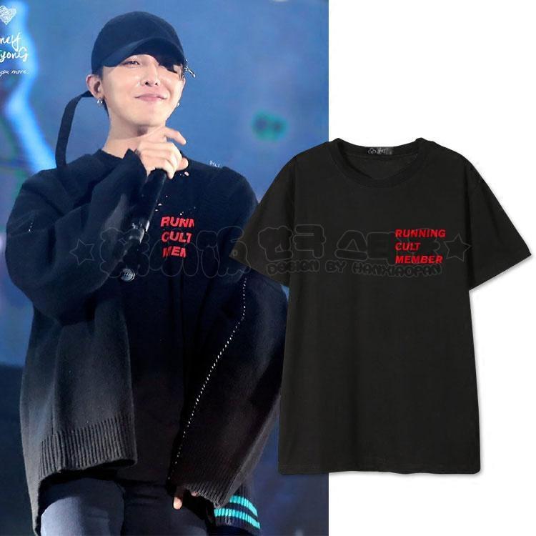 เสื้อยืด RUNNING CULT MEMBER Sty.G-Dragon -ระบุสี/ไซต์-