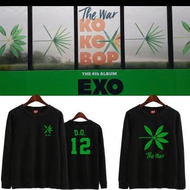 เสื้อแขนยาวThe War #KOKOBOP member -ระบุสี/ไซต์/สมาชิก-