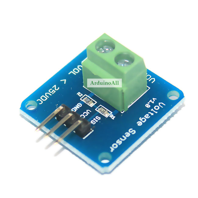 High Accuracy Voltage sensor 0-24V Module by Catalex