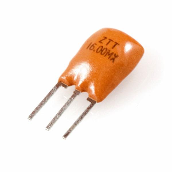 เรโซเนเตอร์ 16 MHz Ceramic Resonators ZTT16.0MX 16MHZ 16.000MHZ สำหรับ Arduino