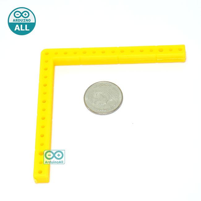 ABS Plastic strip right angle โครงพลาสติก ABS แบบฉาก