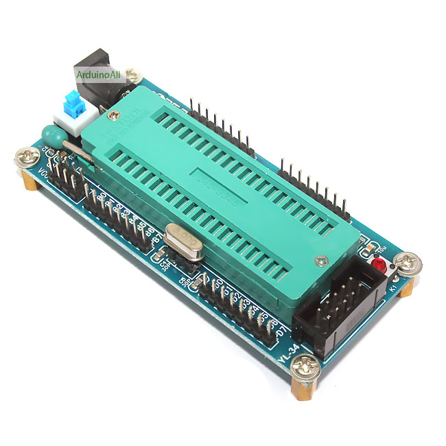 Arduino Atmega32A Mini System Development บอร์ดทดลอง Arduino อเนกประสงค์