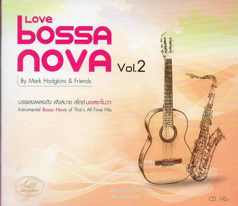 CD, Mark Hodgkins - Love Bossa Nova vol.2