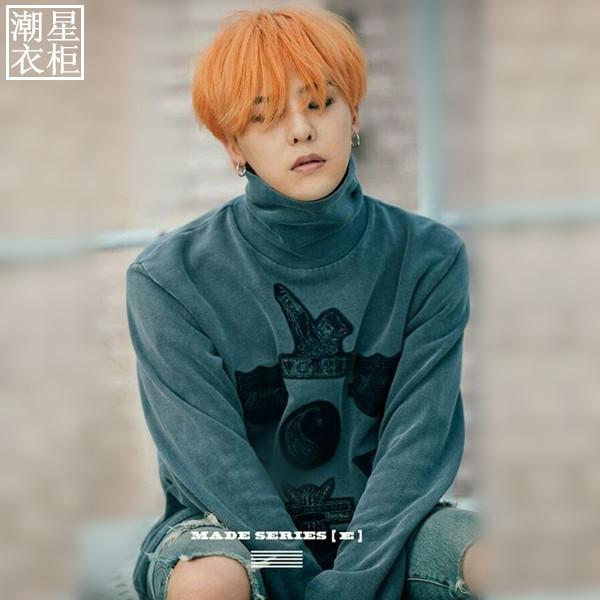 เสื้อแขนยาว Bigbang Let's not fall in love Sty.G-Dragon -ระบุไซต์-