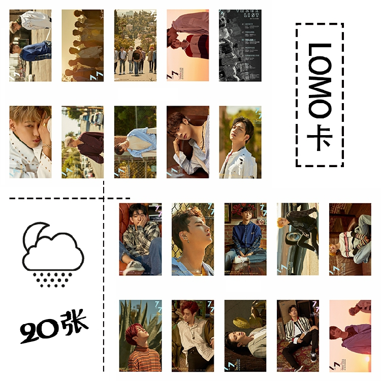 Lomo GOT7 7 FOR 7 You Are (20pc)