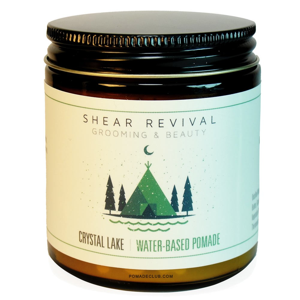Shear Revival - Crystal Lake (Unorthodox Water Based) ขนาด 4 oz. (กระปุกแก้ว)