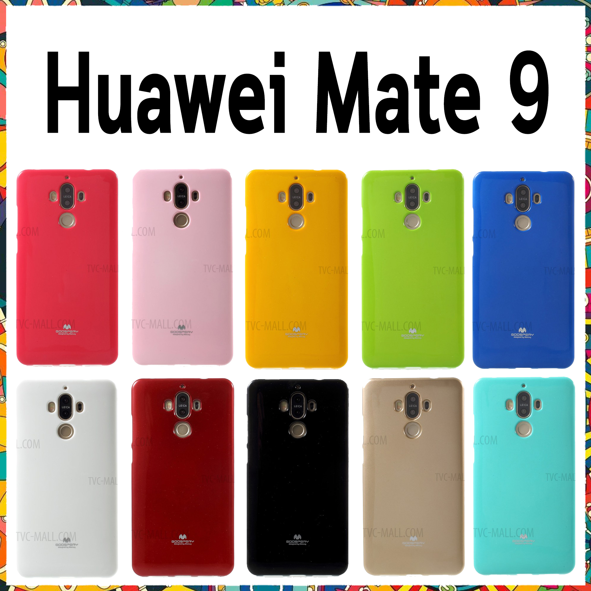 Huawei Mate9 - เคส TPU Mercury Jelly Case (GOOSPERY) แท้