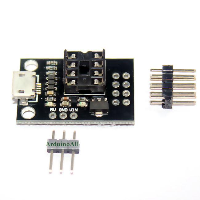 Digispark Attiny85 Programmer Socket Adapter