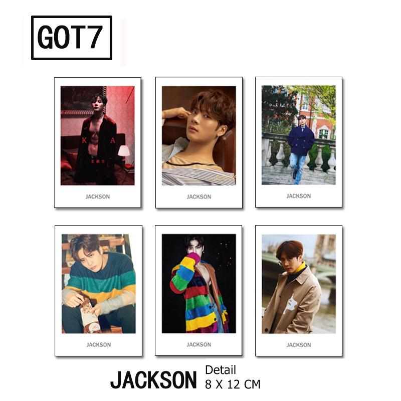 Polaroid Set GOT7 -Jackson (6pc)