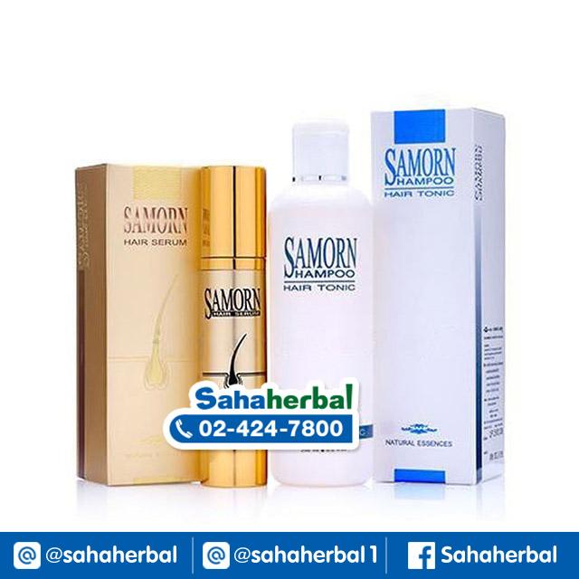 SAMORN Hair Serum & Hair Tonic Shampoo แซมออน SALE 60-80% ฟรีของแถมทุกรายการ