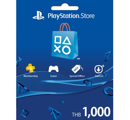PSN Card Thai 1000 THB