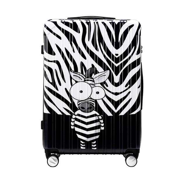 *Pre Order*กระเป๋าเดินทางแบบล้อ/ Trouser Trolley Box Board Box 20-24-28 inch /Black