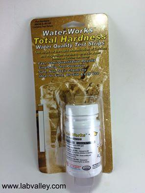 กระดาษวัดความกระด้างของน้ำ Total hardness test strips