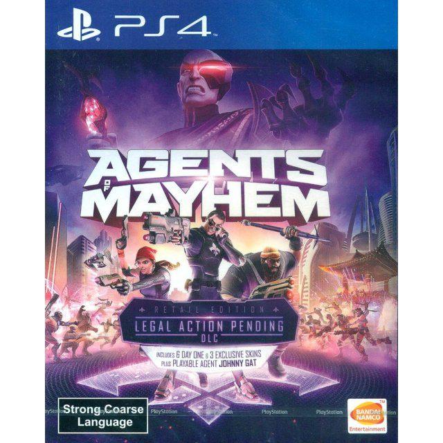 PS4 : Agent of Mayhem (R3)