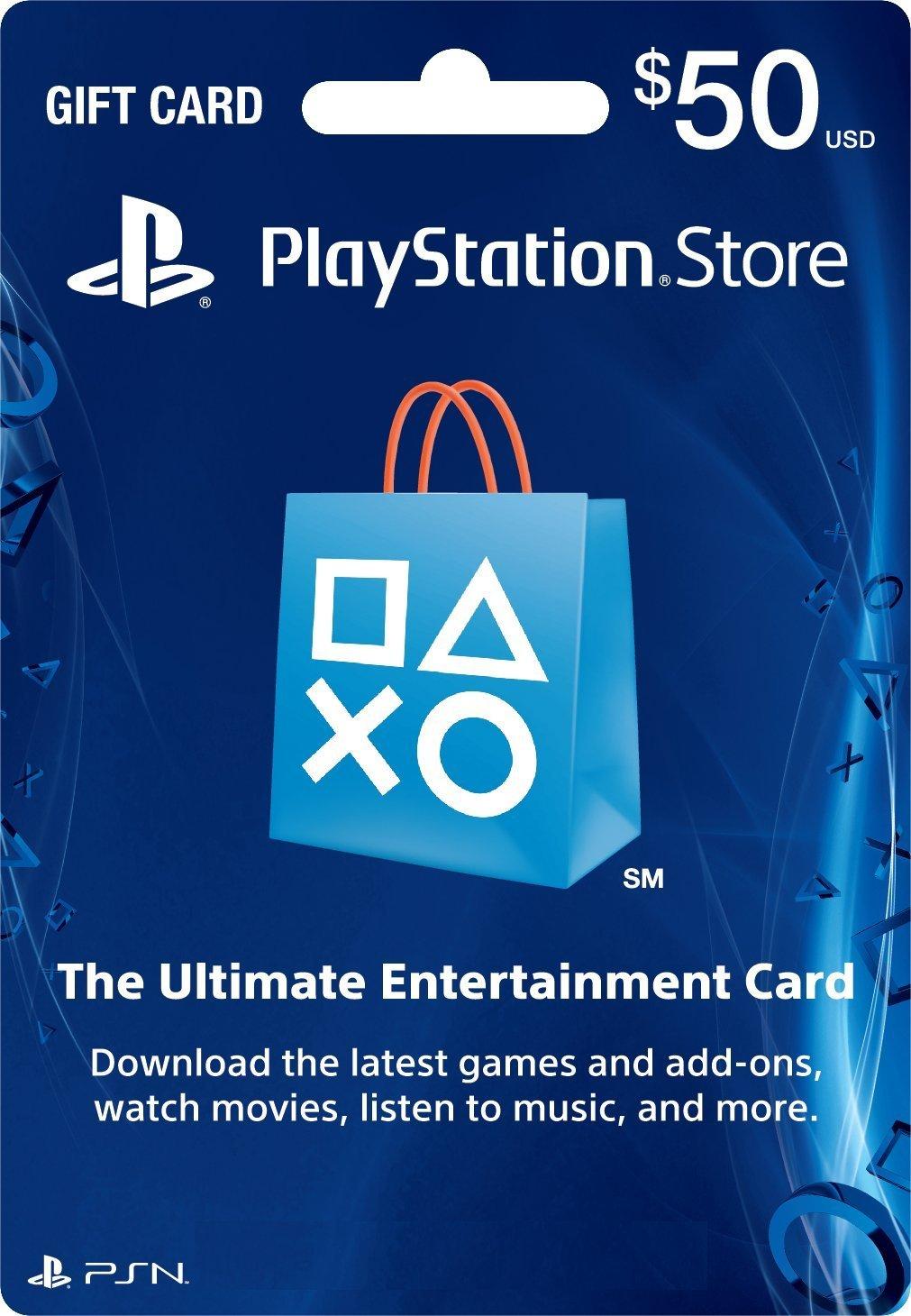 PSN Card 50 US