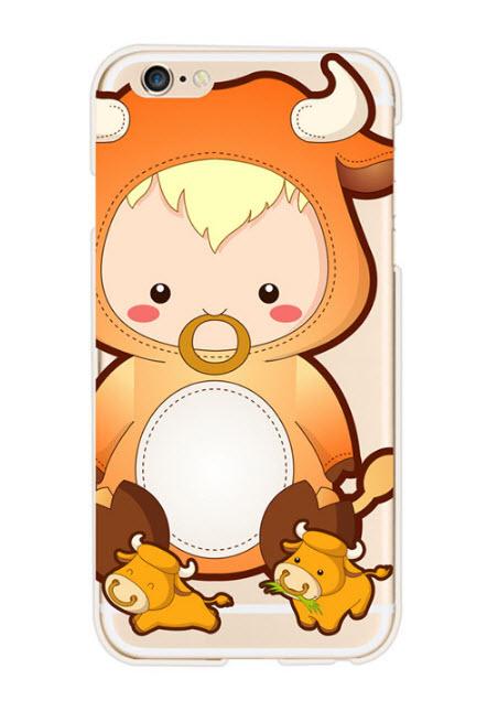 เคสไอโฟน6P/6sPlus (TPU Case) เคสไอโฟน 12 ราศี ปีฉลู