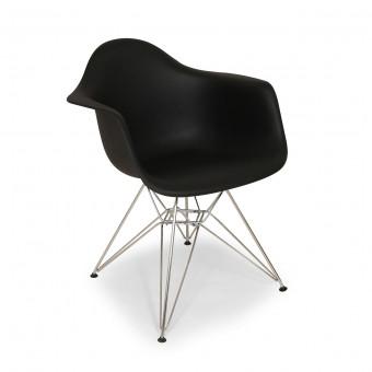 เก้าอี้โมเดิร์น สีดำ สำหรับร้านกาแฟ ร้านอาหาร (PPA-BML)